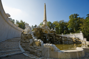 The Obelisk Fountain was erected in 1777.