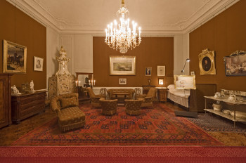 Franz Joseph's Bedroom was installed for him in 1899.