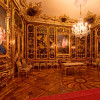 The Vieux Laque Room was remodeled by Maria Theresa as a memorial room after Franz Stephan's death in 1765.