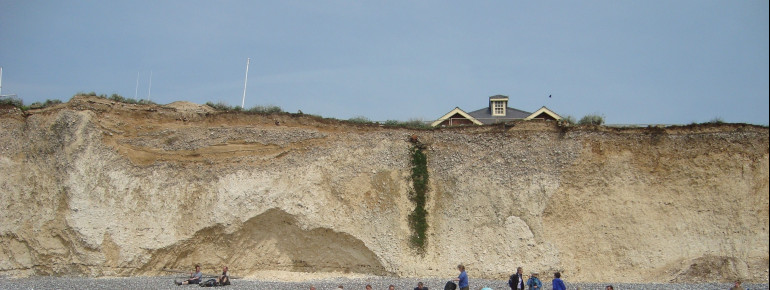 You usually start out at thetown of Birling Gap.