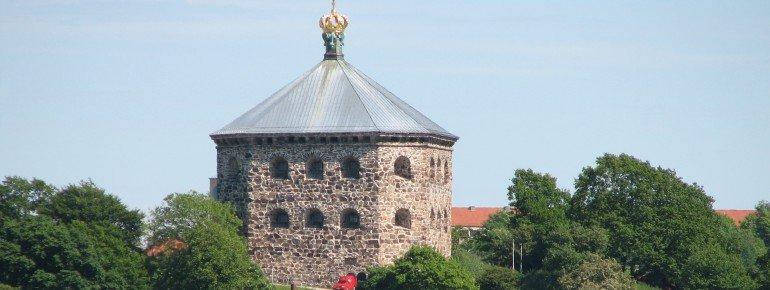The military fortlet Skansen Kronan in Gothenburg