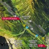 The route of Ischgl Skyfly.