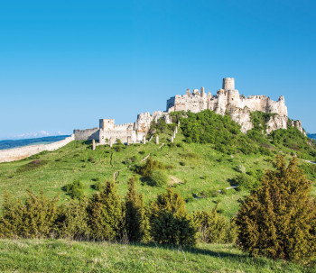 Spiš Castle is one of the largest castle sites in Central Europe.