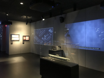 The Spyscape Museum combines highly interactive elements with artifacts from the history of espionage.