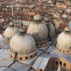 The domes of St. Mark's Basilica