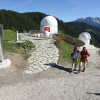 """You can visit the observatory """"Max Valier"""" during a public guided tour."""