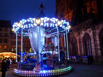 Strasbourg is home to one of the oldest Christmas markets.