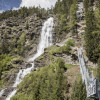Stuibenfall in Ötztal valley is the highest waterfall in Tyrol.