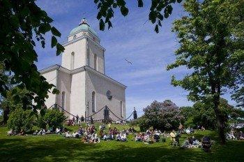 Suomenlinna Church, Finnland