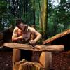 Traditional Maori carvings on wood