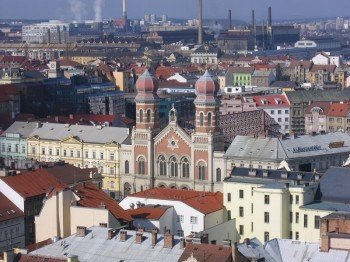 View from St. Bartholomew Cathedral