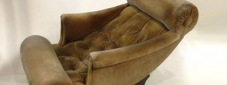 Fauteuil designed by Adolf Loos