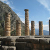 The pillars of Apollo's temple