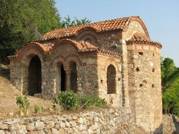 One of the smaller churches of Mystras