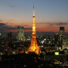 Tokyo Tower is one of Tokyo's most important landmarks.