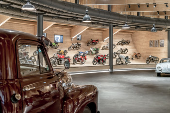 Top Mountain Motorcycle Museum opened in April 2016.