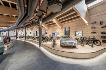 You can find one of the most extensive and valuable collections of historic motorcycles in Austria.