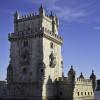 The torre de Belém is one of Lissabon's most famous sights.
