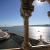 View of the Tejo river.
