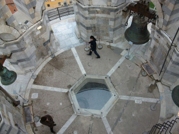 Bells inside the Tower of Pisa