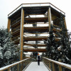Treetop Walkway Lipno is also open during the winter months.
