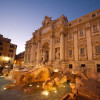 The Trevi Fountain by night