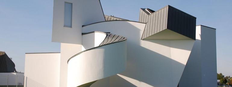 Exterior view of Vitra Design Museum.