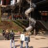 The giant chute at ScienceCenter Ferrodrom®.