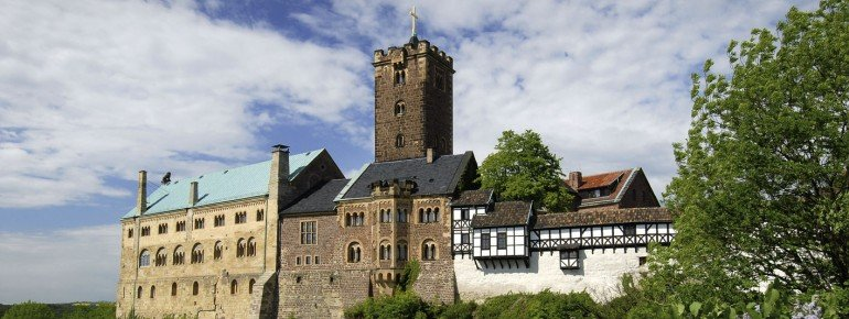 The castle today still contains substantial original structures.