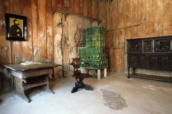 """The """"Lutherstube"""" was where Martin Luther stayed when he was in the castle."""