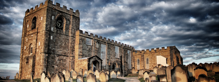 St Mary's chruch and its cemetery inspired Stoker to write his novel Dracula.