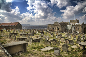 St. Mary's Church and the cemetery are around 900 years old.