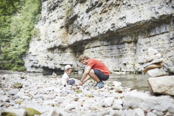 Hiking in the Wutach Canyon is an exciting experience for all ages.
