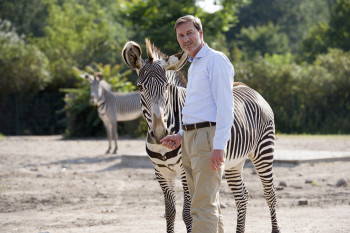 Has already made a huge impact on the Tierpark: Director Dr Andreas Knieriem.
