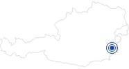 Therme/Bad Allegriatherme Stegersbach im Südburgenland: Position auf der Karte