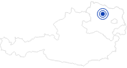 Spa recreation center Schönberg in the Waldviertel: Position on map