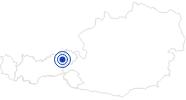 Therme/Bad Bergbadl Wildschönau in Wildschönau: Position auf der Karte