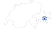 Spa Mineral bath & Spa Samedan in Engadin St. Moritz: Position on map