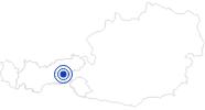 Therme/Bad Freizeitpark Zell am Ziller im Zillertal: Position auf der Karte