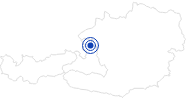 Therme/Bad Freibad Thalgau im Salzburger Sonnenterrasse: Position auf der Karte