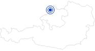 Therme/Bad Freibad Esternberg in Donau Oberösterreich: Position auf der Karte