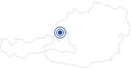 Spa Paracelsus Bath Salzburg Salzburg and its surrounding towns: Position on map