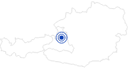 Therme/Bad Aqua-Salza Golling in Tennengau-Dachstein West: Position auf der Karte