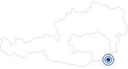 Therme/Bad Parktherme Bad Radkersburg im Thermenland Steiermark: Position auf der Karte