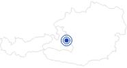 Therme/Bad Freizeitpark Filzmoos in der Salzburger Sportwelt: Position auf der Karte