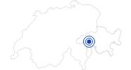 Therme/Bad 7132 Therme Vals in Vals: Position auf der Karte