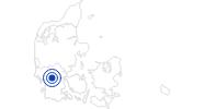 Therme/Bad Brørup Schwimmbad in Südjütland: Position auf der Karte