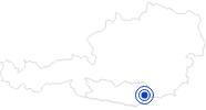 Therme/Bad Erlebnisschwimmbad St. Paul im Lavanttal: Position auf der Karte