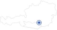 Therme/Bad Freibad Reichenfels in der Erlebnisregion Hochosterwitz - Kärntenmitte: Position auf der Karte