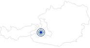 Therme/Bad Sonnblick-Freischwimmbad Rauris in Nationalpark Hohe Tauern: Position auf der Karte